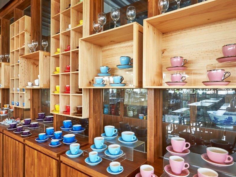 Tiamo Coffee roasting room