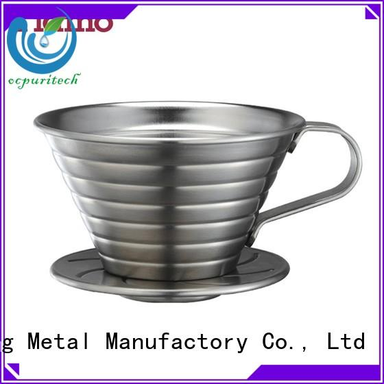 bean french jug Tiamo Brand stainless steel coffee dripper factory