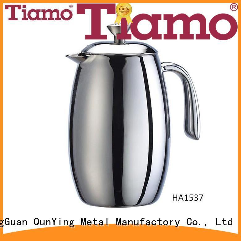 Tiamo glass press coffee maker wholesale for sale