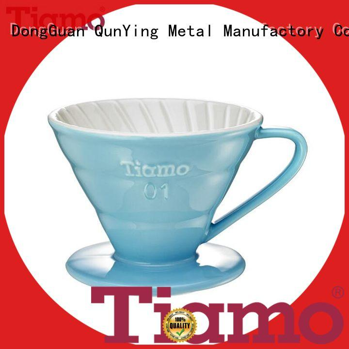 Tiamo elegant ceramic coffee dripper manufacturer for sale