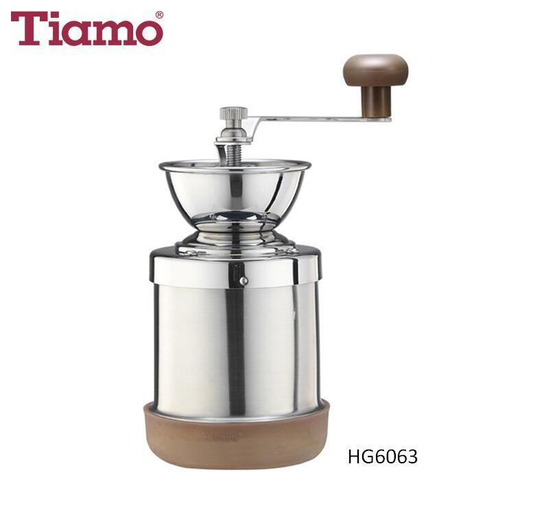 Tiamo 0913 Stainless Steel Coffee Grinder (HG6063)