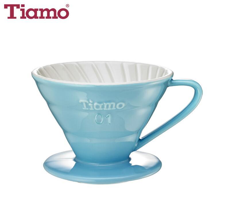 V01 Porcelain Coffee Dripper - Light Blue (HG5543BB)
