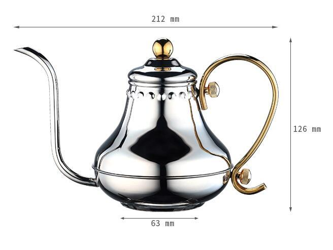 0.42L Pour Over Coffee Pot (HA8561)