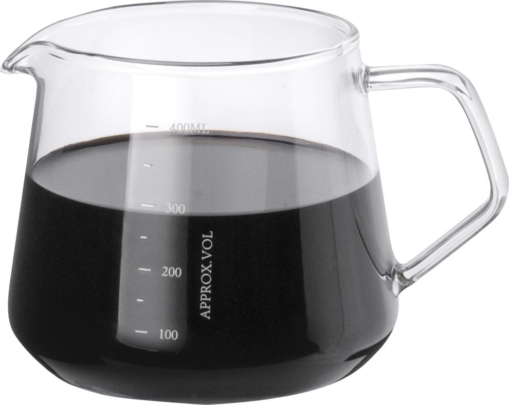 Clear Coffee Server 400ml With Factory Price (HG2184)