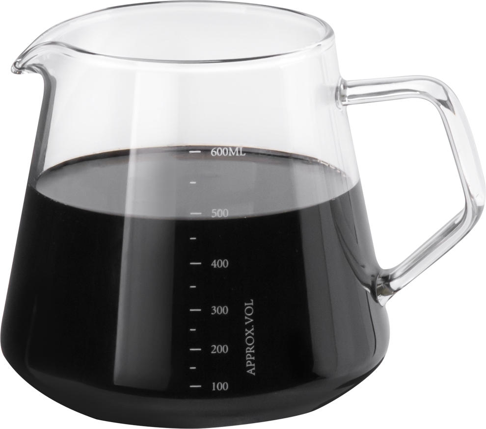 Glass Range Coffee Server 600ml (HG2185)