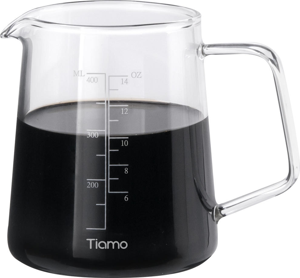 Standard Glass Coffee Server Carafe 400ml(HG2186)