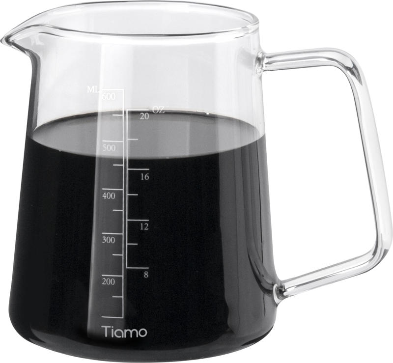 Glass Coffee Server 600ml With Good Perspective (HG2187)