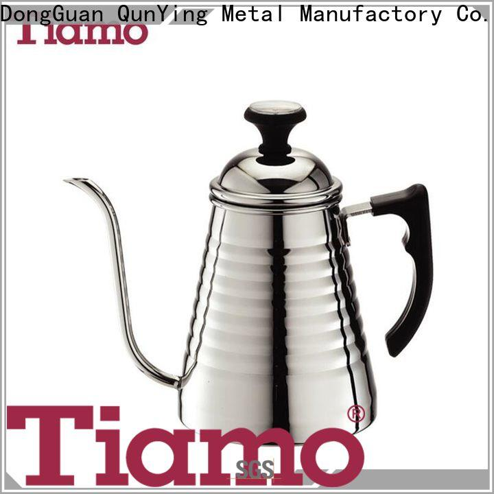 Tiamo new design coffee pots on sale customized for reseller