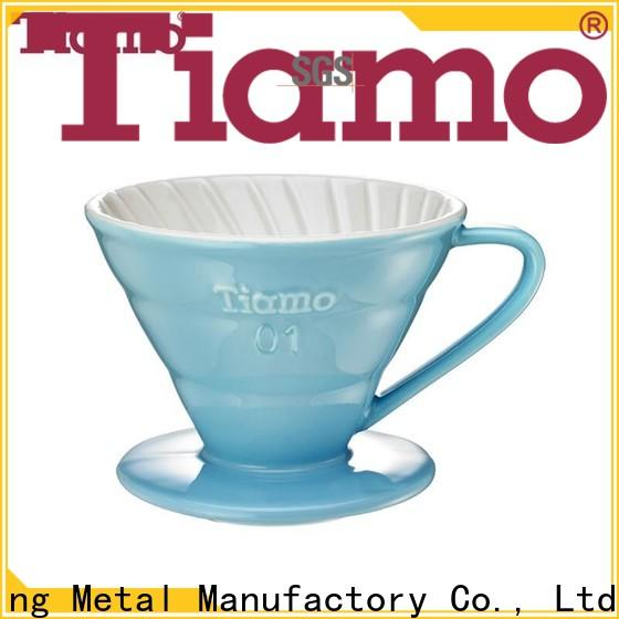 Tiamo tiamo ceramic coffee dripper one-stop services for coffee