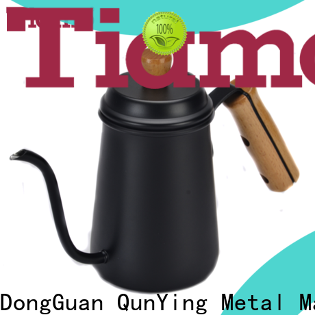 Tiamo best stainless steel coffee pot personalized for coffee shop