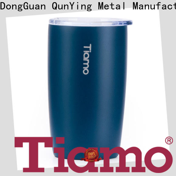 Tiamo 330ml double layer coffee mug supply for business