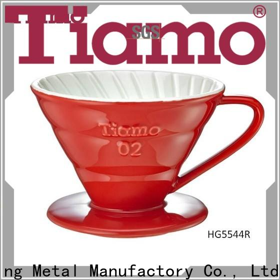 Tiamo highly recommend pour over coffee filter one-stop services for wholesale