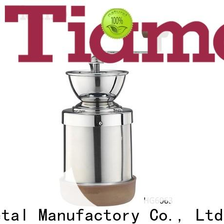 Tiamo professional small coffee grinder trade partner for small business