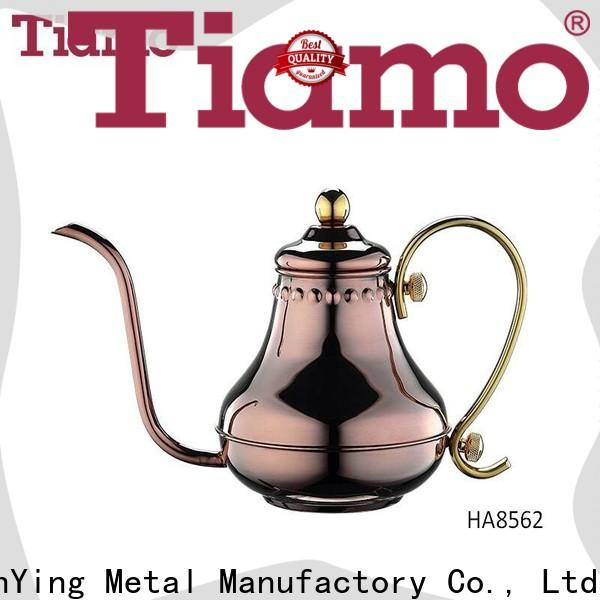 best stainless steel coffee pot 1301pour customized for coffee shop