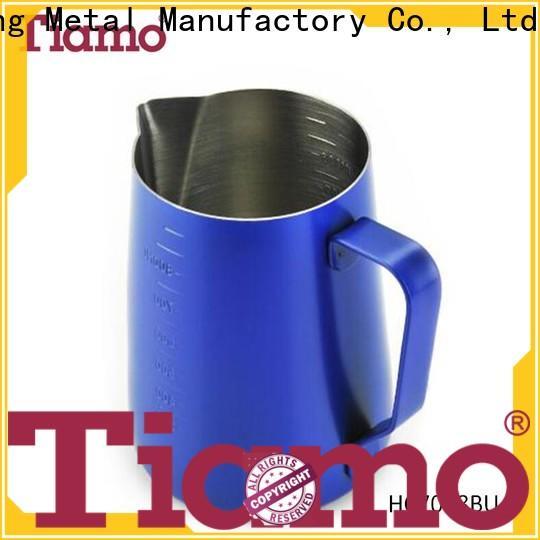 Tiamo low cost metal milk jug overseas trader for reseller
