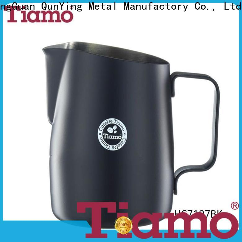 Tiamo most popular frothing pitcher overseas trader for retailer