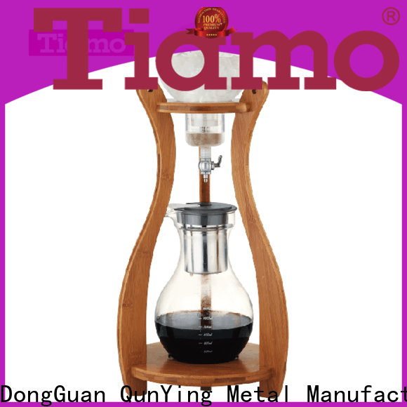 Tiamo accurate domestic coffee machine inquire now for kitchen