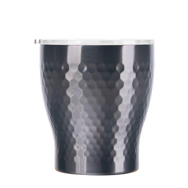 Tiamo Stainless steel vacuum mug(230ml) Titanium black