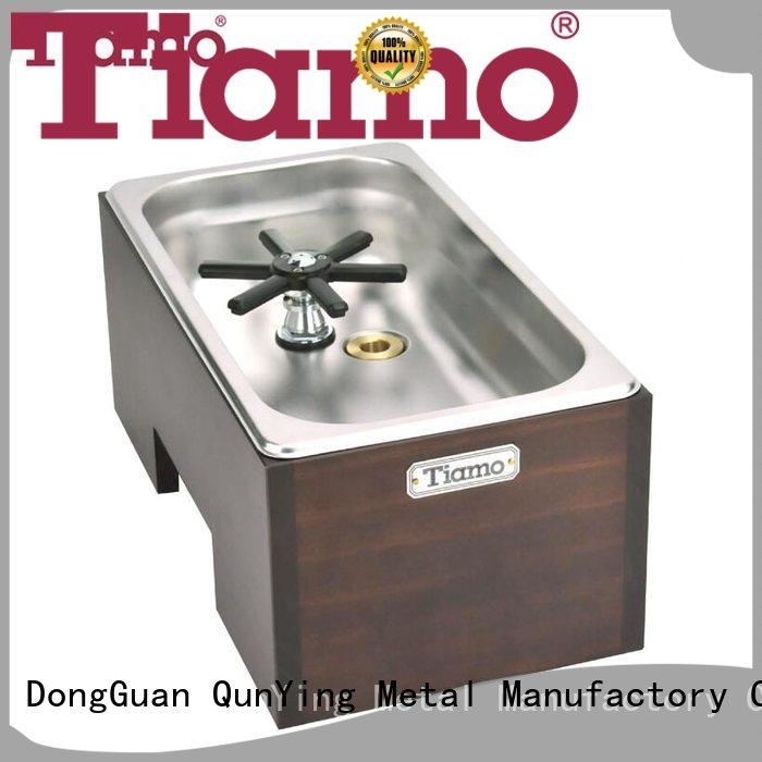 Tiamo stable supply stainless steel basin with cup washer inquire now for business