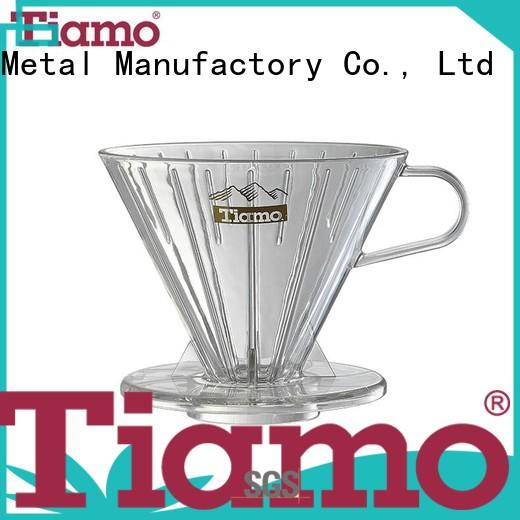 Tiamo filter pour over coffee filter one-stop services for wholesale