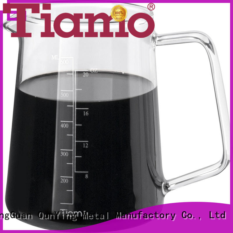 Tiamo 400mlhg2186 coffee server for business