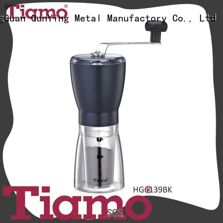 Tiamo grinder small coffee grinder international market for small business