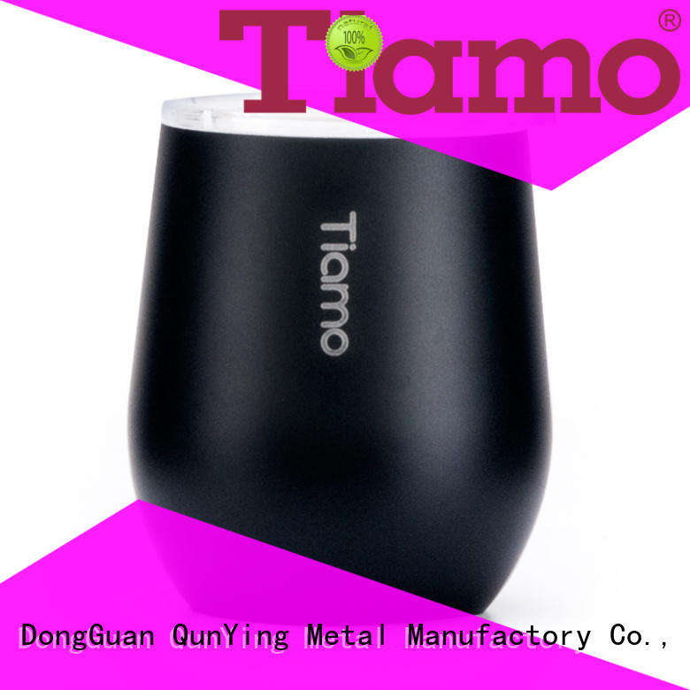 Tiamo mug double layer coffee mug suppliers for importer